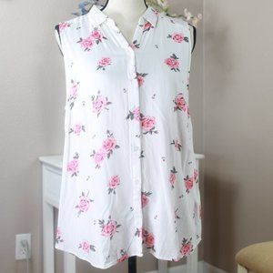 Divided Rose Tunic Size 12